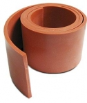 SILICONE BAFFLE SEAL - IRON OXIDE RED