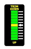 UNIVERSAL LED METER TRIM DOWN-UP