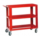 TOOLS CART WITH THREE SHELVES