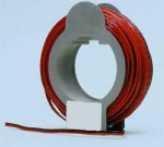 BLACK-RED FLAT WIRE